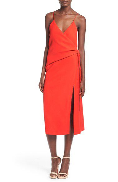 C/MEO Collective C/MEO 'Better Things' Midi Wrap Dress available at #Nordstrom