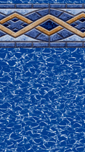 Liberty Beaded Round Pool Liners Pool Liners Inground Pools Above Ground Pool Liners
