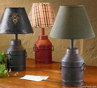 The Lamp Revamp Antique Milk Can Primitive Lamps Old Milk Cans