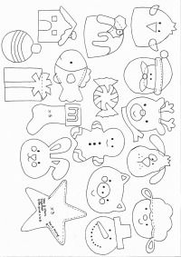 patterns for felt ornaments since i am at home with a sick baby today i may as well make something