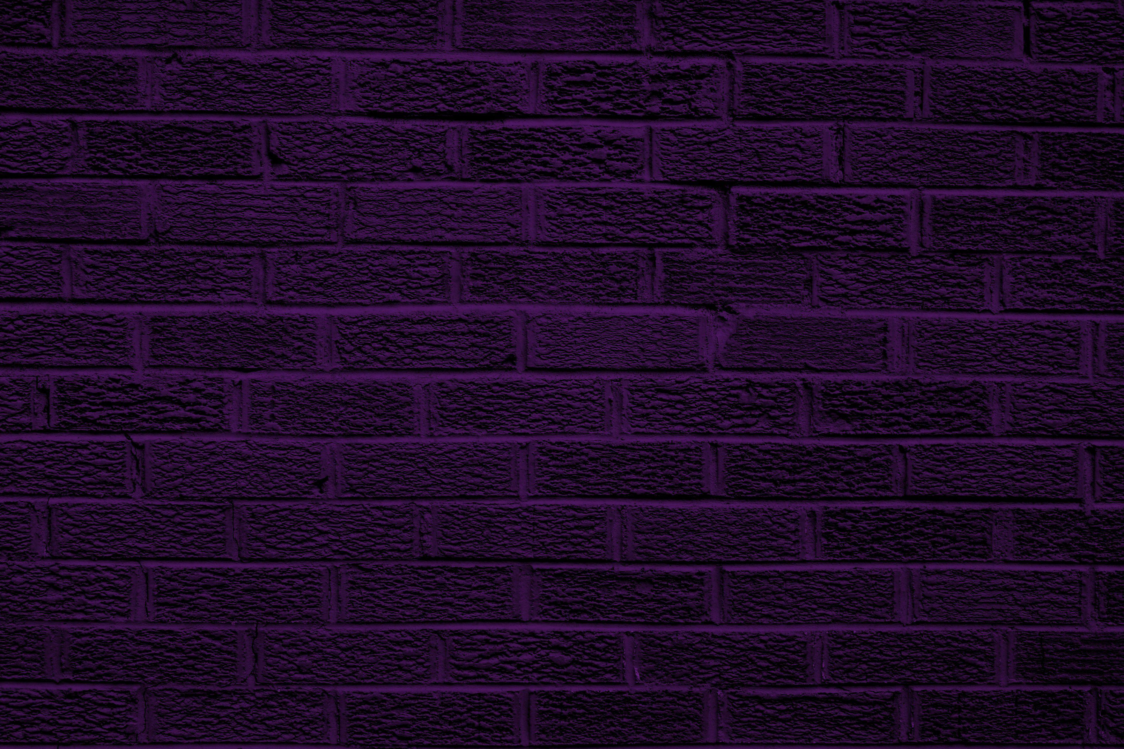 Dark Purple Backgrounds Dark Purple Brick Wall Texture