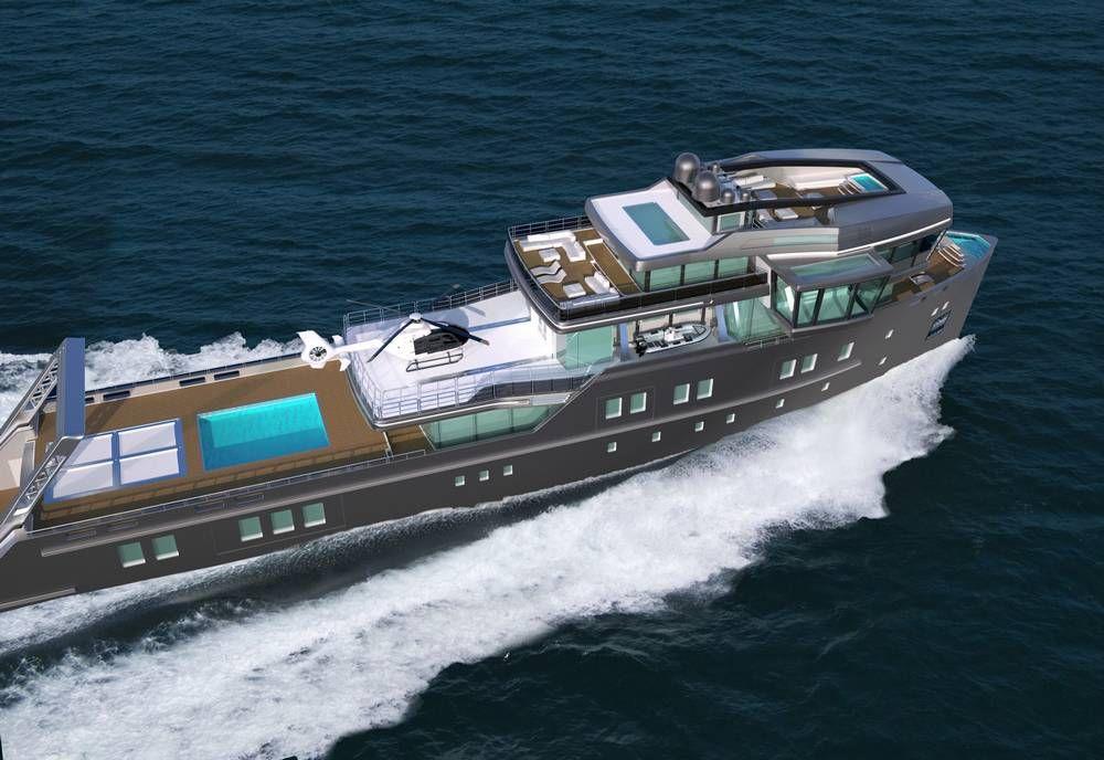 IDA Pfeiffer IceClass Yacht wordlessTech Explorer
