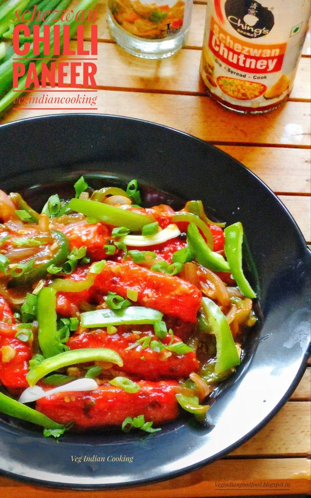 How to make schezwan chilli paneer restaurant style indian how to make schezwan chilli paneer restaurant style indian chinese crispy paneer schezwan recipe forumfinder Choice Image