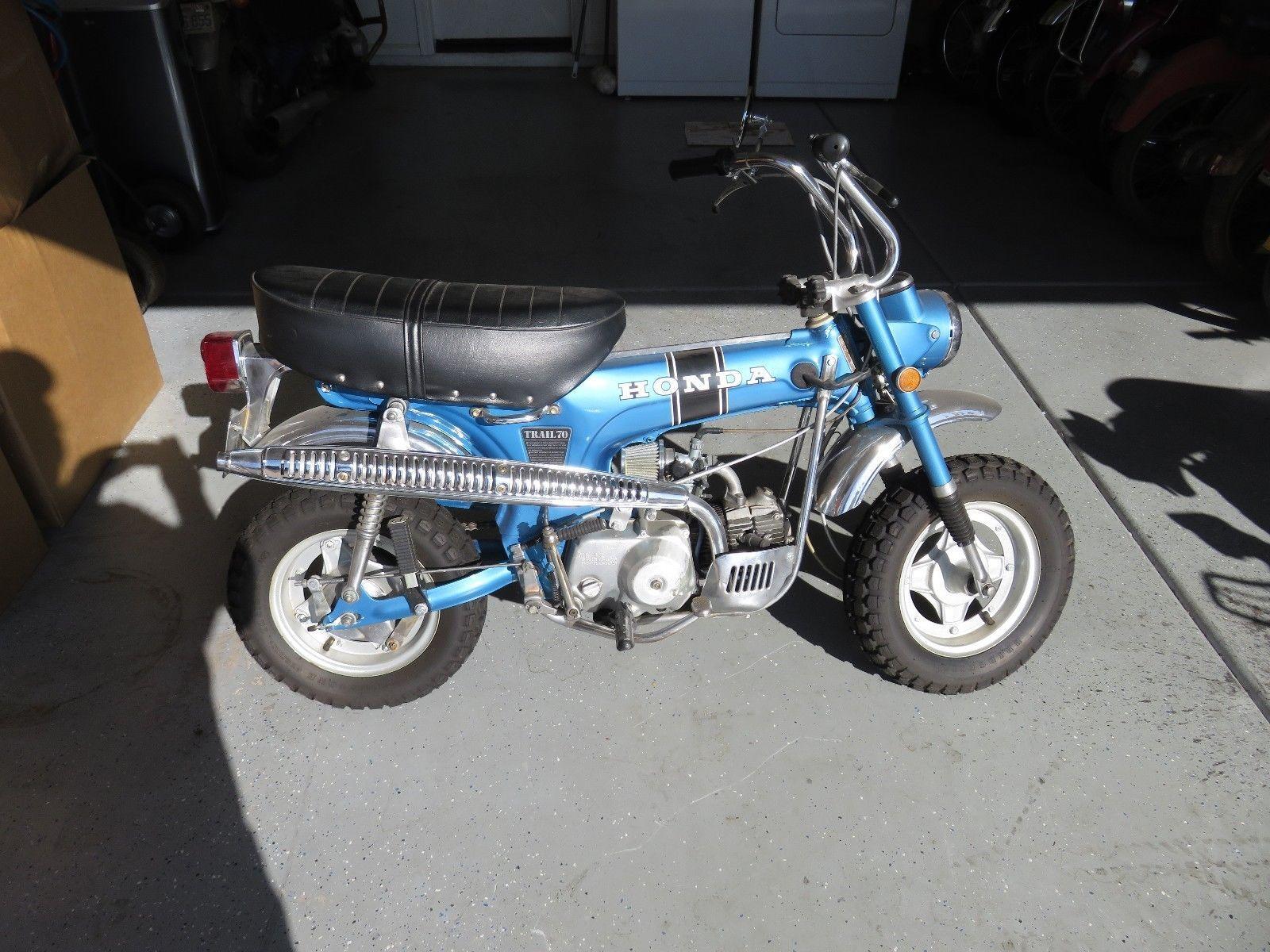 1970 Honda Ct 70 Us Classic Bike Pinterest And Bikes Ct70 Fuel Tank Ebay Blue Ko Model 3 Speed