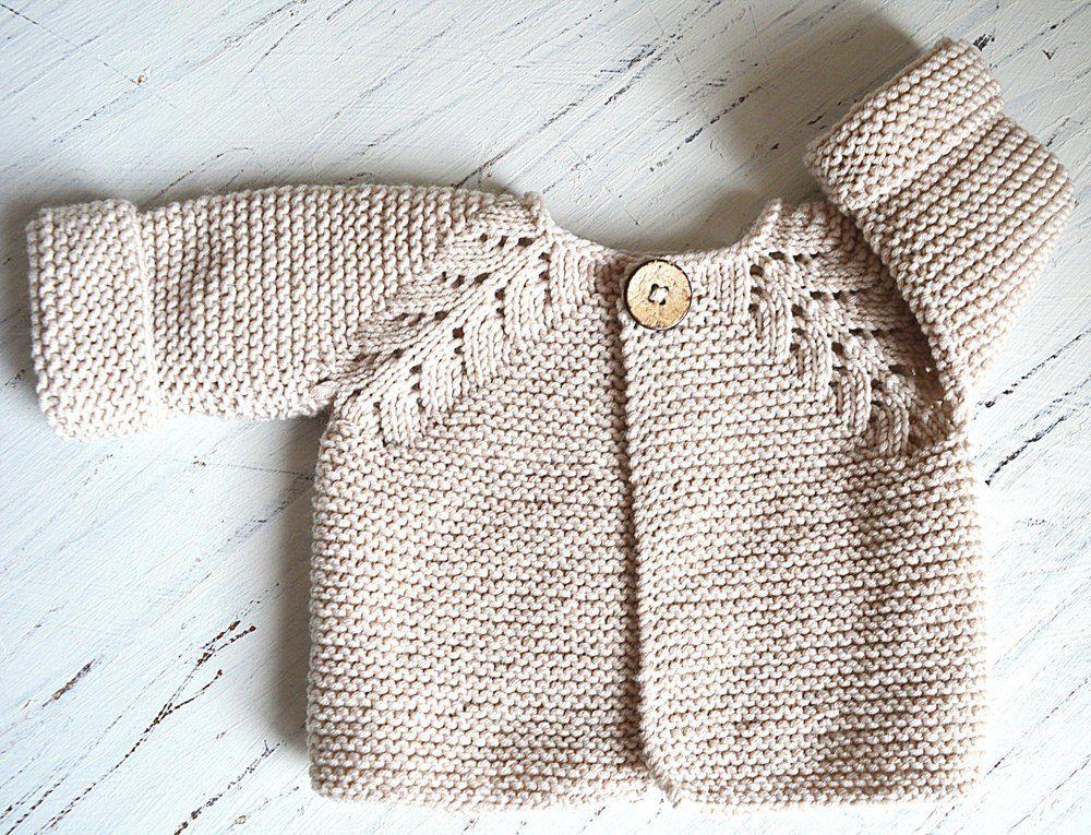 226dedb847fc Norwegian Fir Top Down Cardigan - P109 Knitting pattern by OGE ...