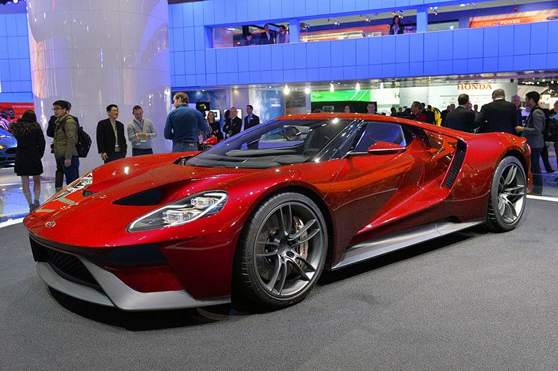 2017 ford gt concept and redesign httpworld wide webautocarnewshq - Ford Gt 2016 Engine