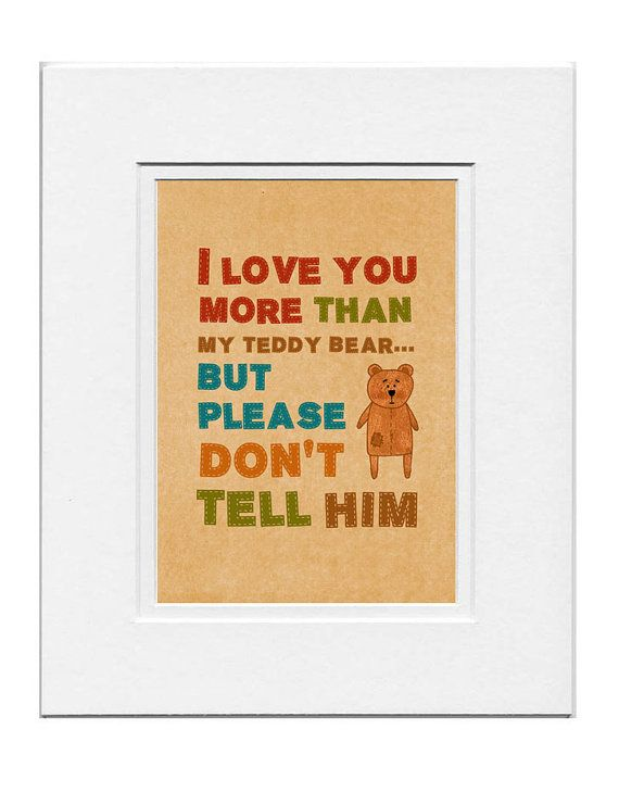 I love you more ..... by Gayana on Etsy