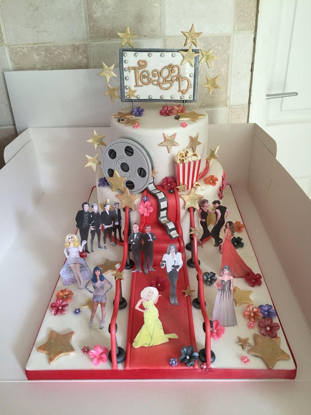 Hollywood celebrities cake holiday decor decor home decor