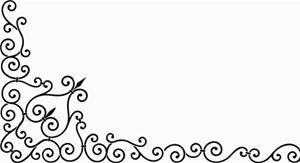 Wrought Iron Side Wall Stencil
