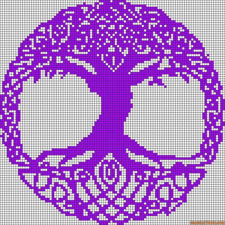 tree of life cross stitch patterns ...