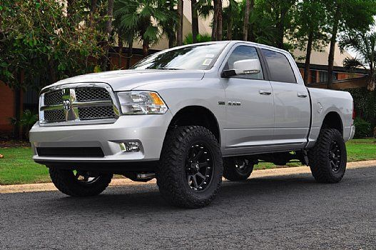 2012 ram 1500 silver with black rims - 2012 Dodge Ram 1500 White With Black Rims