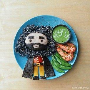 Rubeus Hagrid | 22 personas famosas que merecen que se las coman