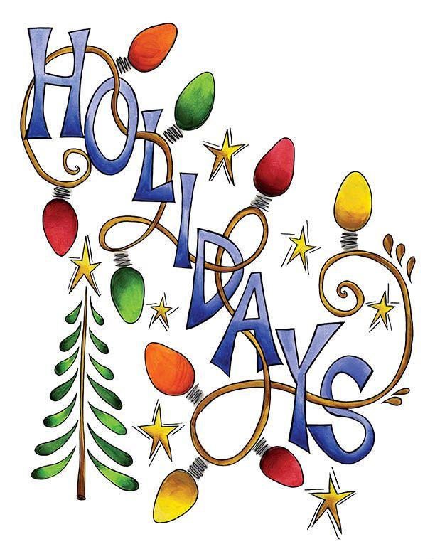 http vintagefeedsacks blogspot com 2010 12 free vintage clip art rh pinterest com happy holiday clip art images happy holidays clip art 2017