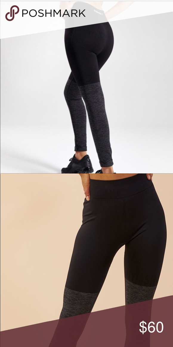 4b0c551e2130e NWT Two Toned Gymshark leggings BRAND NEW with tag never worn gymshark two  tones leggings black and grey open to offers free gift with purchase this  is a ...
