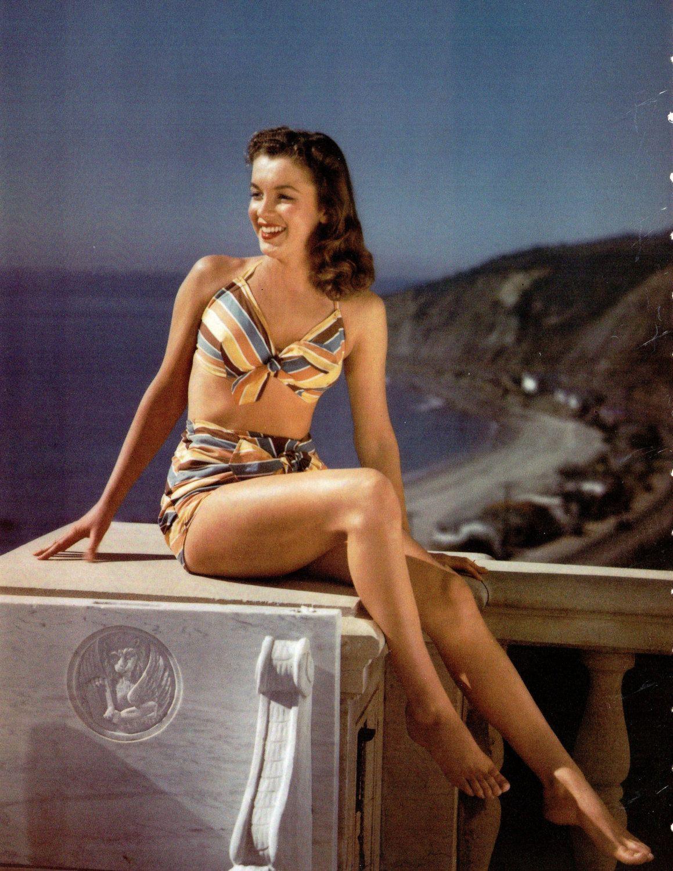 Items similar to Overlooking Malibu Marilyn Monroe (Norma Jeane 1945) on Etsy