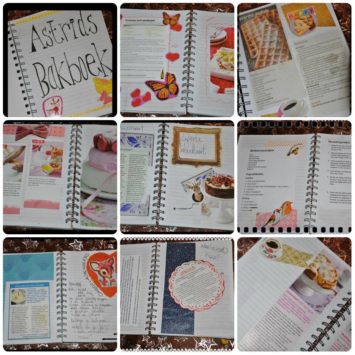 Fonkelnieuw Zelf kookboekje maken | Creatief, Knutselen, Projecten HI-02