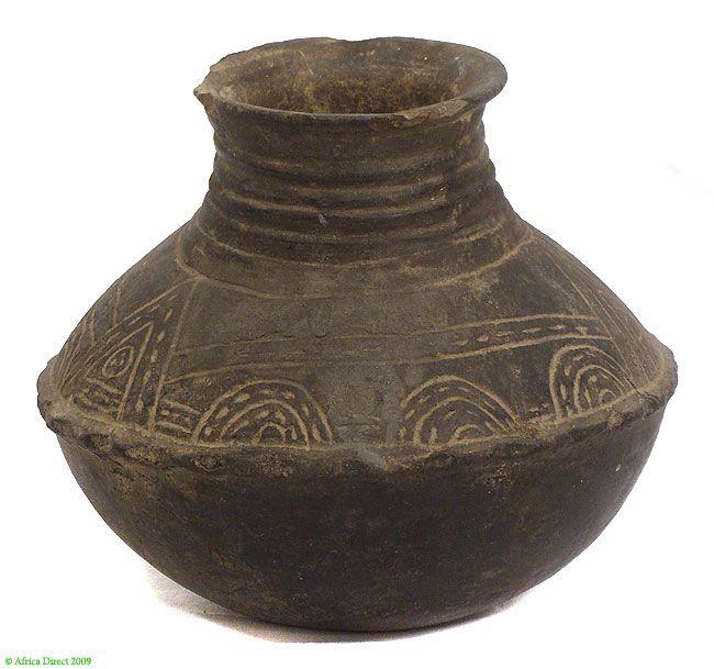 Treebystream Makonde Clay Vessel Tanzania African Pottery African Pottery Ancient Pottery Pottery