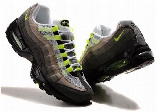 negozio nike air max 95 sconto mens scarpe bianco grigio  verde