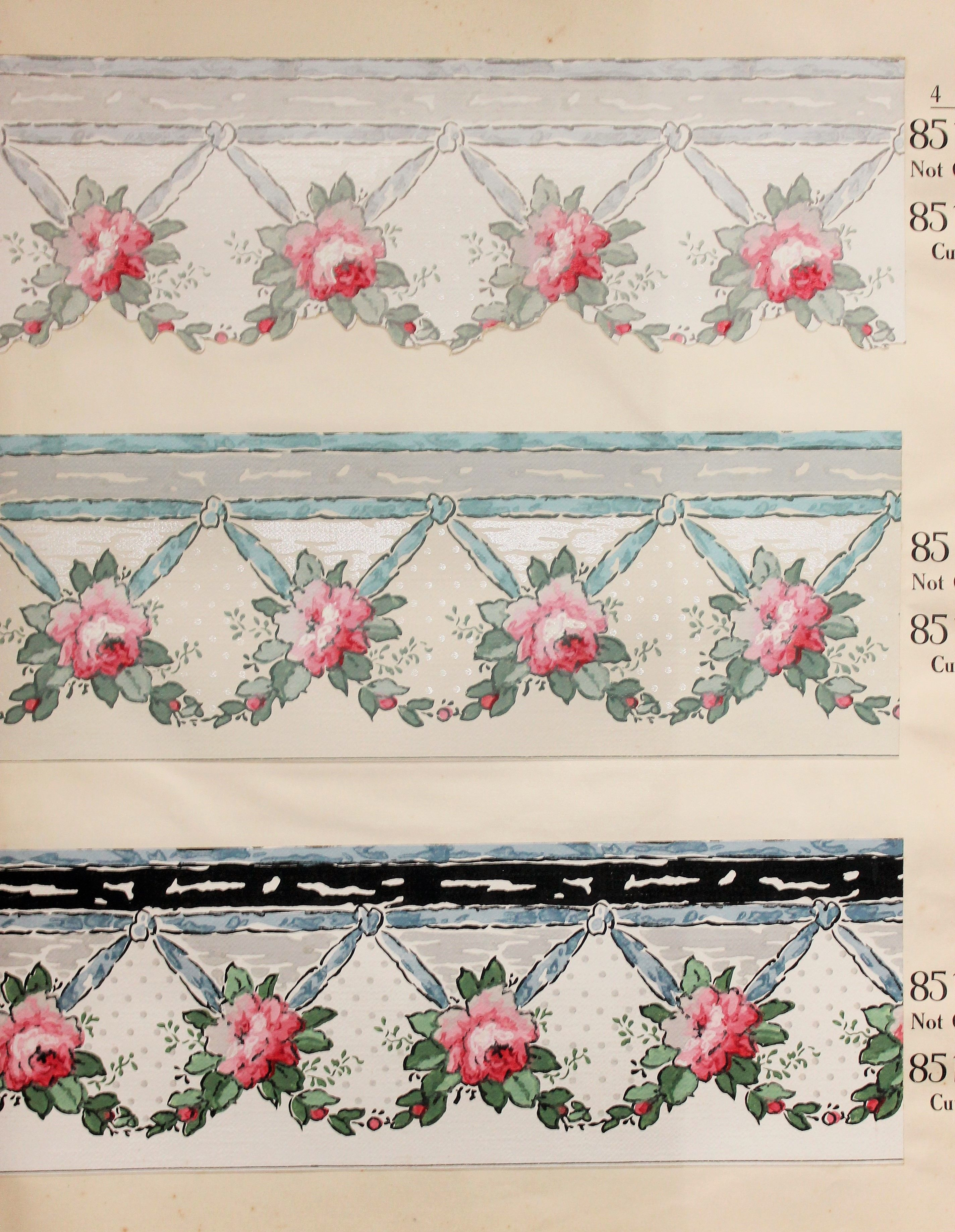 Pin by Paper Popinjay on Vintage Wallpaper Borders