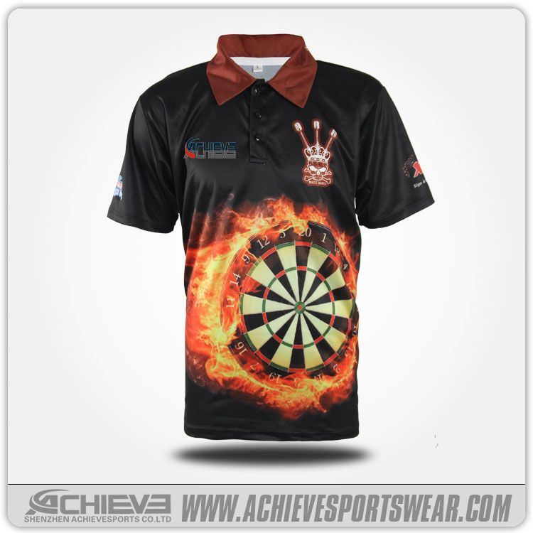 Darts Shirts Darts Polo Pro Design Dart Shirts Shirts Gaming