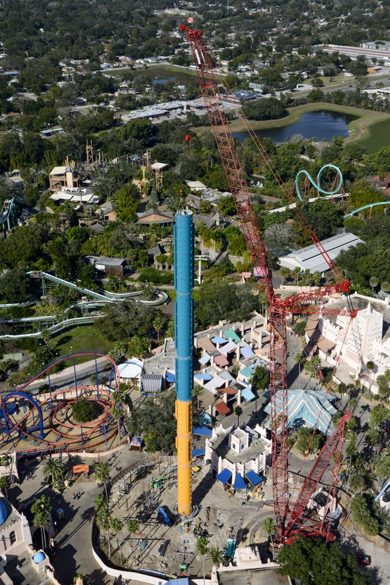 The New Falcon S Fury Ride Is Rising Would You Dare To Drop Face Down On It Theme Parks Rides Travel And Tourism Busch Gardens Tampa