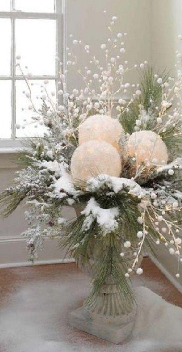 18 Winter Wonderland Home Decor Ideas - This Silly Girl's Kitchen