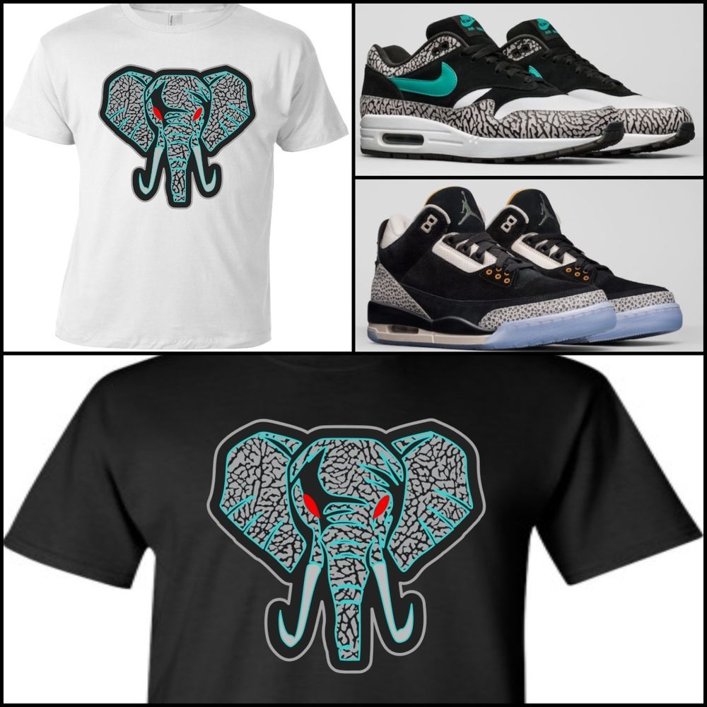 028c4579 EXCLUSIVE TEE/T-SHIRT to match AIR MAX ATMOS OR ATMOS X NIKE AIR 1 PACK  JORDAN 3 #COPEMCUSTOMS #GraphicTee