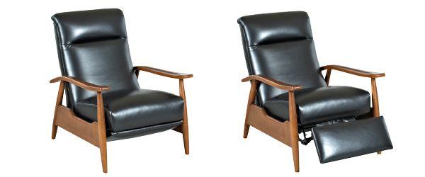 Cool Peter Mid Century Modern Leather Recliner Chair A Modern Short Links Chair Design For Home Short Linksinfo