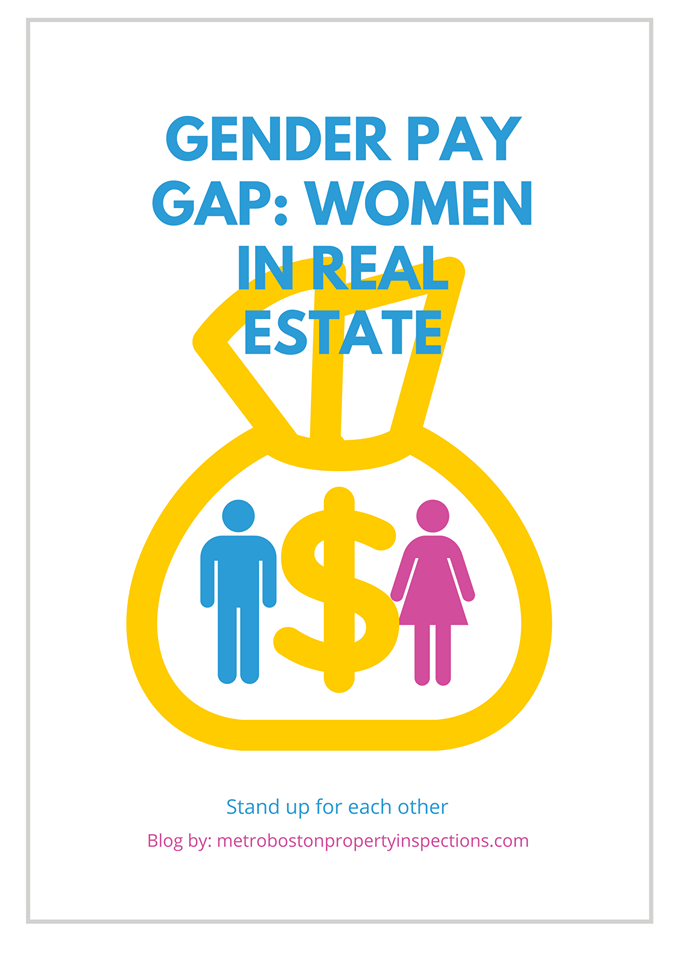 Gender Pay Gap Women In Real Estate Gender Pay Gap Gender Real Estate School