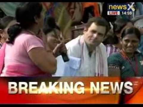 Breaking News: Rahul Gandhi meets women Congress workers in Bhopal - NewsX