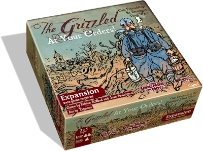 The Grizzled At Your Orders from Cool Mini or Not