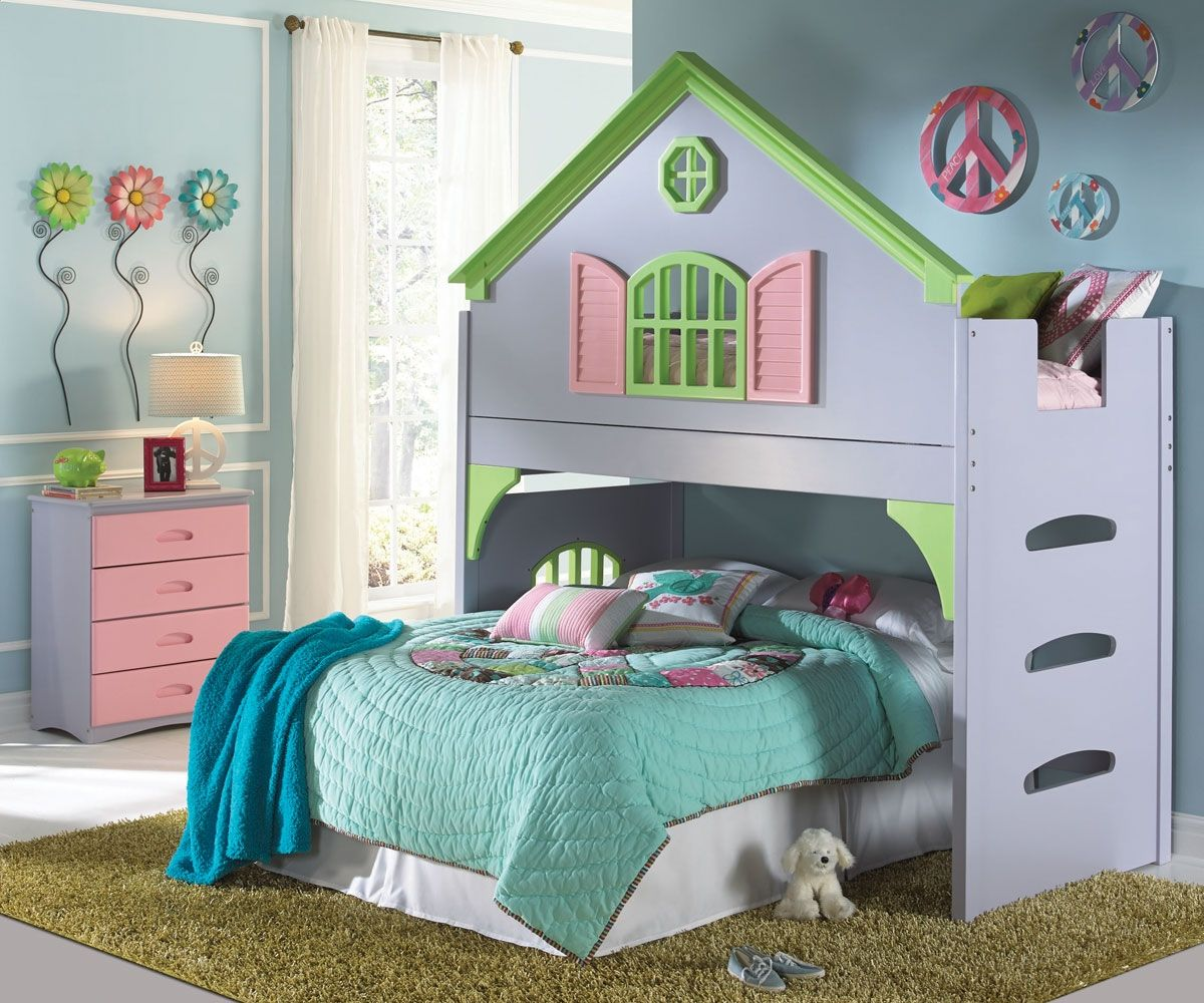 Small Girl Loft Beds