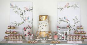 Stunning and soooo impressive table By Cupcake ....the attention to detail and talent are amazing!