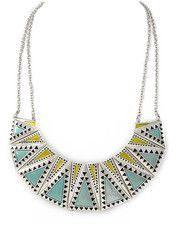 Aztec Bib Necklace