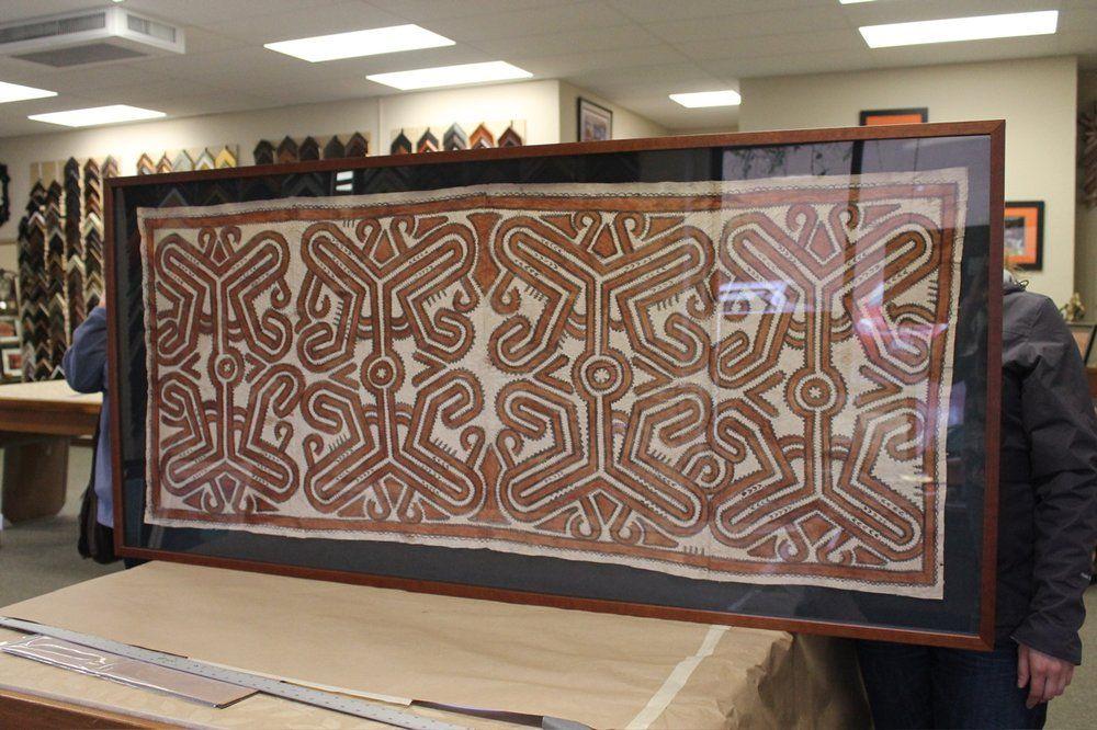 York Framing Gallery - Santa Cruz, CA   Yelp   Tapa Cloth ...