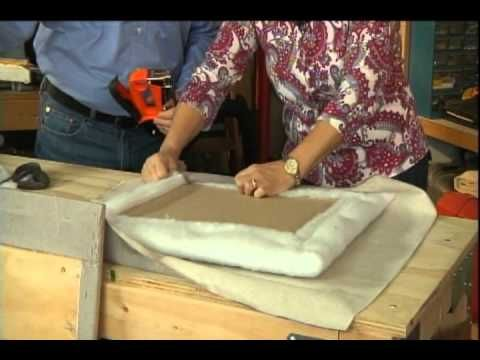 Make A Wall Mounted Upholstered Headboard Matt And Shari