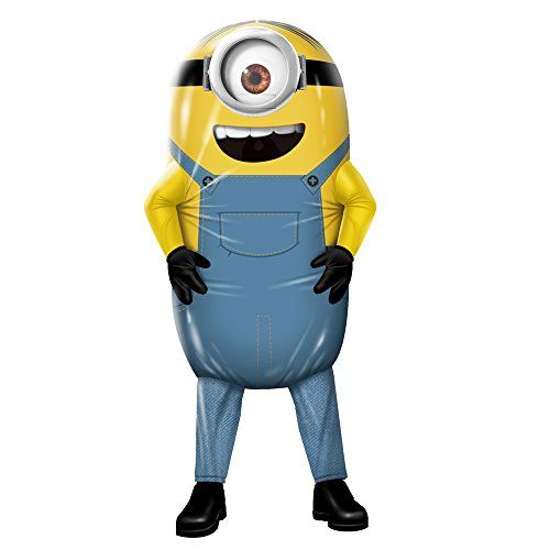 Rubies Costume Co Mens Minions Inflatable Minion Stuart Costume Yellow Standard  sc 1 st  Pinterest & Rubies Costume Co Mens Minions Inflatable Minion Stuart Costume ...