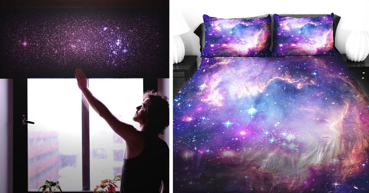 21 Artículos de decoración espacial para traer la galaxia a tu hogar ...