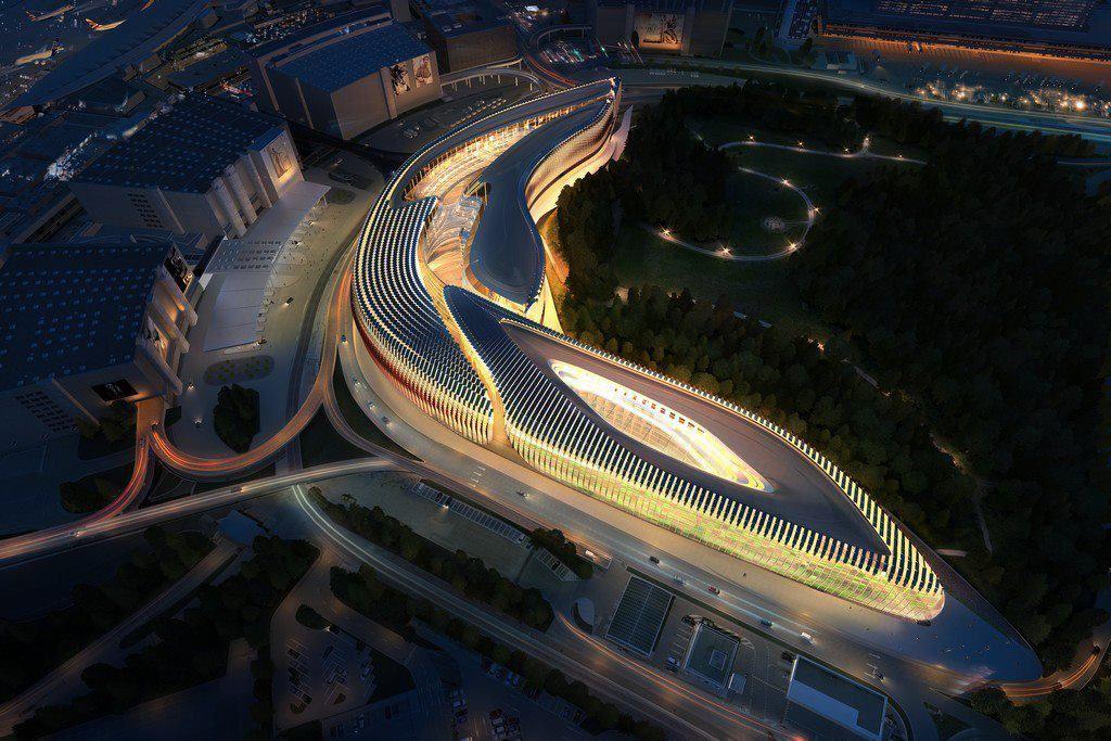 Aeroporto de Zurique por Zaha Hadid.