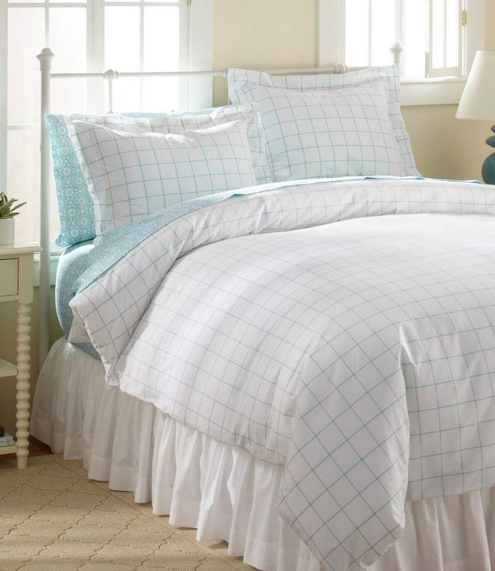 L L Bean L L Bean 280 Thread Count Pima Cotton Percale Comforter