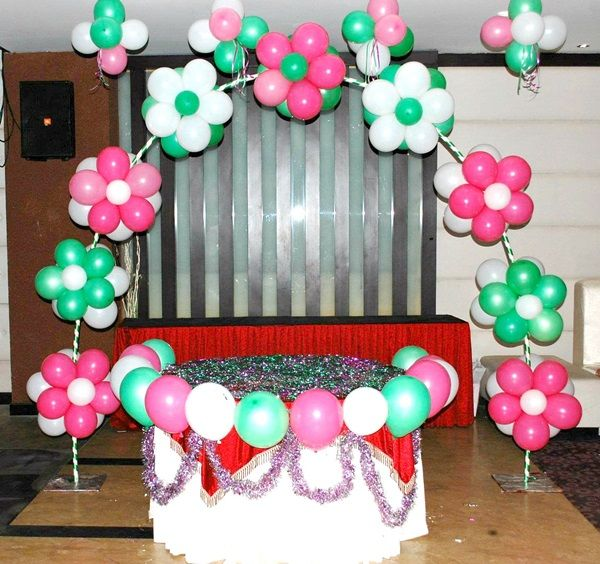 40 Creative Balloon Decoration Ideas For Parties Babby Pinterest