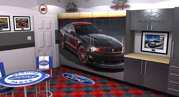 The History Of The Garage Garage Interior Dream Garage Garage