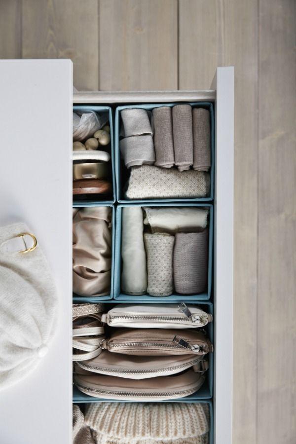 Ypperlig A little bit of bedroom organization goes a long way! IKEA SKUBB WW-23