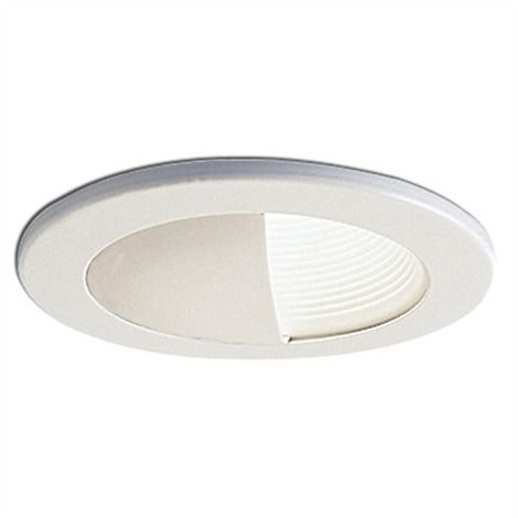 4in line voltage wall wash recessed lighting trim with baffle ns 4 4in line voltage wall wash recessed lighting trim with baffle aloadofball Image collections