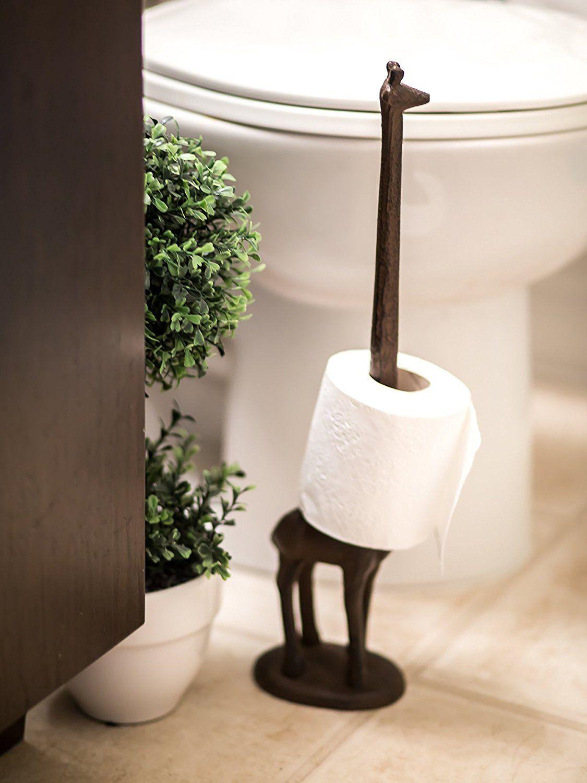 Amazon Com Paper Towel Holder Or Free Standing Toilet Paper Holder Cast Iron Unique Toilet Paper Holder Toilet Paper Stand Free Standing Toilet Paper Holder