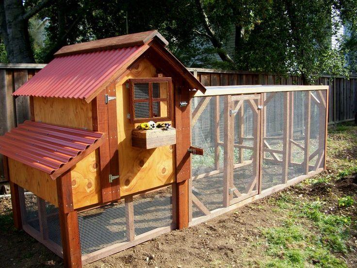 Backyard chicken coop   Chicks   Pinterest   Chicken barn