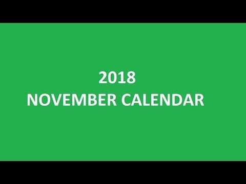 Download November 2018 calendar printable templates for free 2018