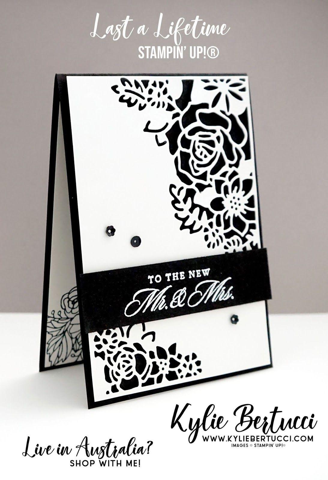 Last A Lifetime Bundle Kylie Bertucci Stampin Up Australia Stampinup Cardmaking Handmadecard Ru Stampin Up Wedding Cards Cards Wedding Cards Handmade