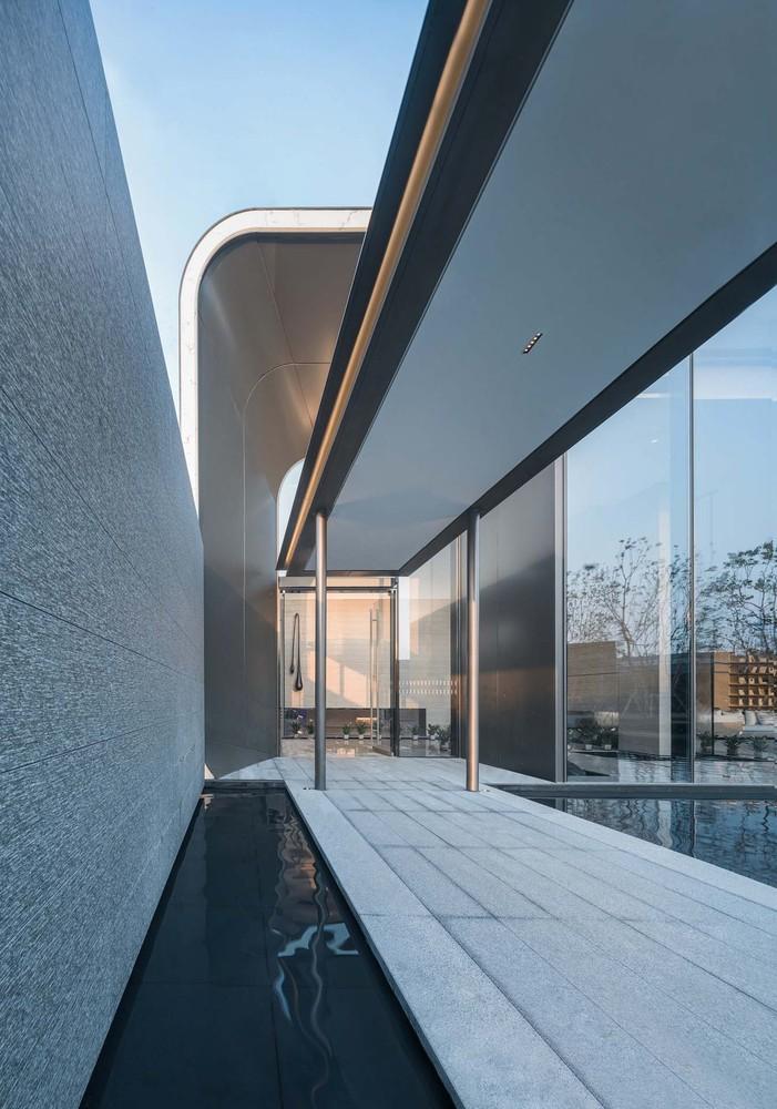 Gallery Of Super Fluid Artistic Life House Gad Line Studio 4 Architecture Indoor Design Modern Architecture