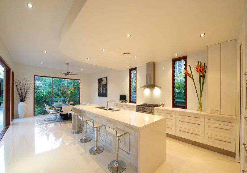 porcelain tiling to kitchen floor | my container house | pinterest